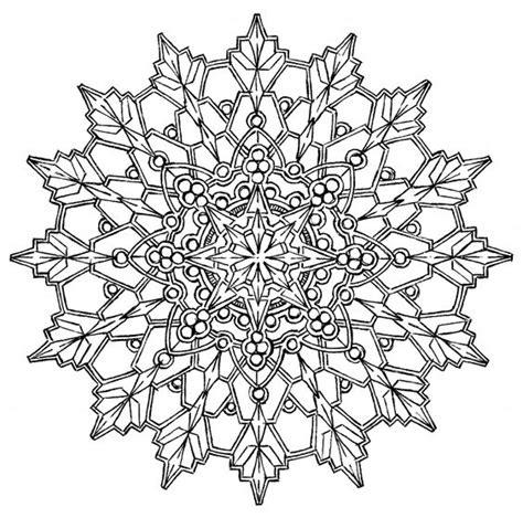 intricate snowflake coloring page sehr schwierige mandalas zum ausmalen ausmalbilder f 252 r