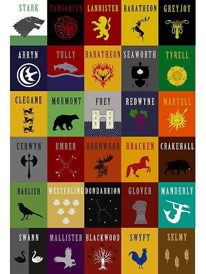 game of thrones house sigils game of thrones house sigils where can i get a house