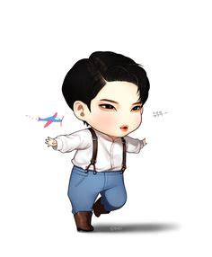 T Shirt Kpop Kaos Kpop Vixx Hyuk Chibi pin by copperhead 90 on vixx vixx kpop and fanart
