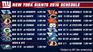 what time is the new york giants game on tonight collections