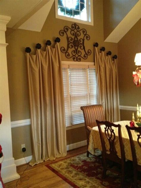 unusual ways to hang curtains 35 creative ways to hang curtains like a pro bored art