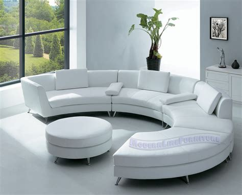 White Ultra Modern Sofas Living Room Decobizz Com Modern Living Room Sofa
