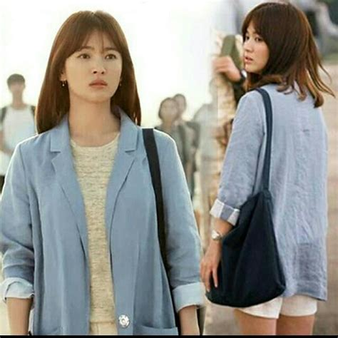 Anting Matahari Descendant Of The Sun gaya fashion song hye kyo dalam descendants of the sun yang musti kamu ketahui indowarta