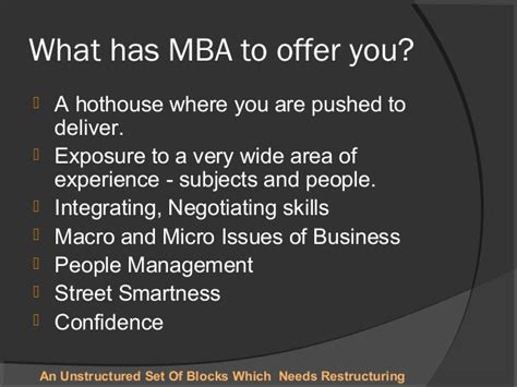 How Many Years Of Experience Before Mba by Mba As A Career
