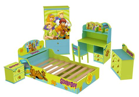 scooby doo bedroom scooby doo kid s bed room set allinfun