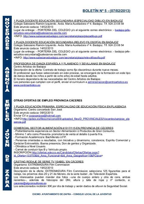 Modelo Curriculum Unex Boletin Aej 7 Febrero 2013