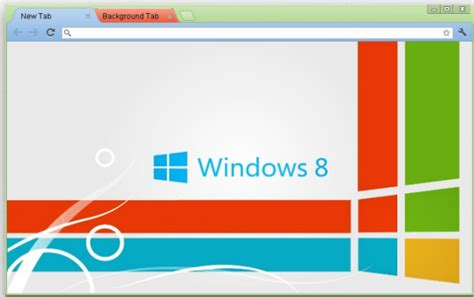 chrome themes for windows 8 how to create custom google chrome theme
