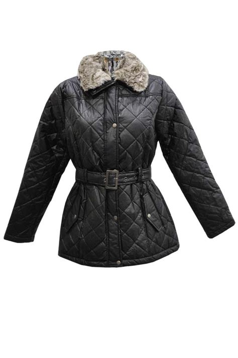Black Quilted Coat by Black Quilted Jacket
