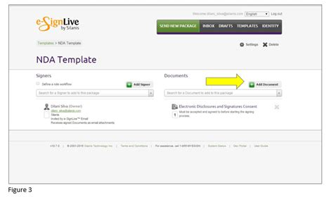 how to create e signature templates in esignlive