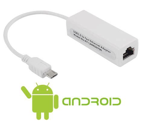 entrada lan tarjeta de red micro usb externa usb lan adaptador usb