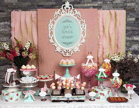 kara s party ideas shabby chic girl spring floral bridal shower party planning ideas
