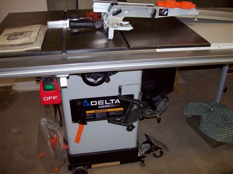 Delta Hybrid Table Saw Table Design Ideas