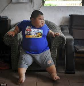 Fat Kid On Phone Meme - boy of three who weighs 10 stone is banned from nursery