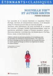 libro nouvelle vie et autres livre nouvelle vie tm et autres r 233 cits pierre bordage