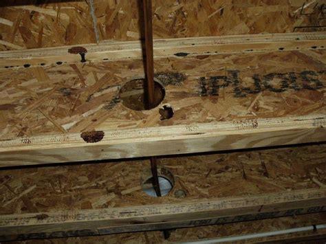 Engineered Floor Joists Engineered Floor Joists Holes Your New Floor