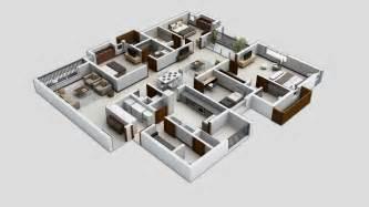 Floor Decor Plano Planos Para Apartamentos Con 4 Habitaciones