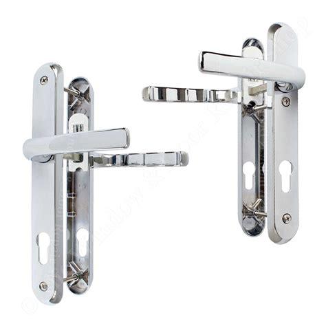 Upvc Patio Door Handles Upvc Door Handle Pair 92pz Sprung Lever Glazing Patio Avocet Affinity Ebay