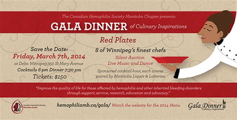 chs gala dinner 2014 on behance