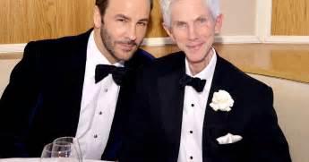 Tom Ford And Richard Buckley Tom Ford Married Partner Richard Buckley Designer Reveals