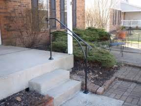 exterior handrails for steps iron x exterior handrails stair solution