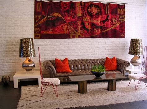 Amazing Vintage Inspired Home Decor #2: Eclectic-living-room-with-Moroccan-accents-and-bright-pops-of-color.jpg