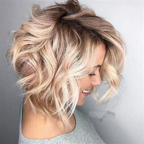 hairstyles for short hair wavy curly wavy short hairstyles and haircuts for ladies 2018