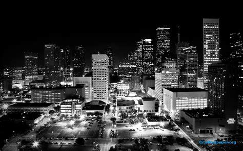 city skyline black and white wallpaper houston skyline wallpaper