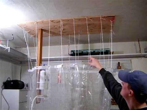 temporary indoor shower