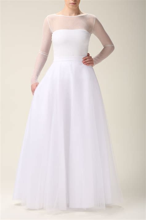 maxi tulle skirt with pockets tulle skirt white skirt white