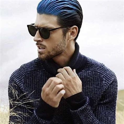 long men haircut dyed 10 slick hairstyles for men mens hairstyles 2018