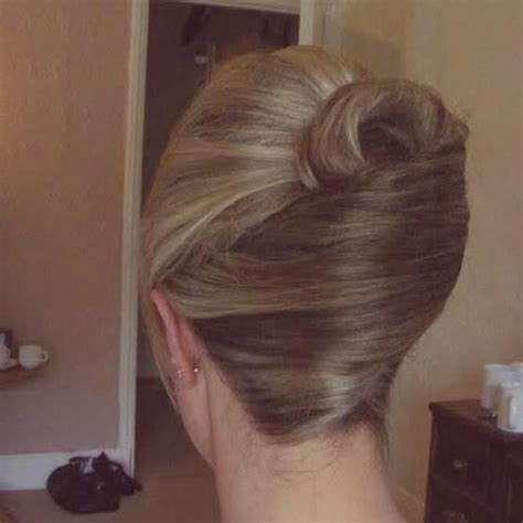 hair in a french roll pretty french roll hairstyles for long hair pinterest