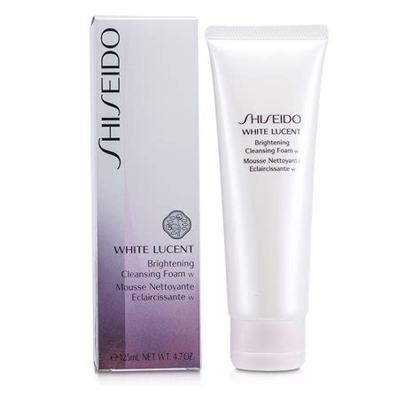 White Screat Brightening Cleanser white lucent brightening cleansing foam w shiseido f c