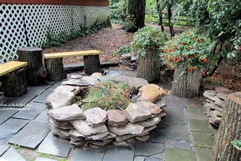 backyard stone ideas patio ideas with fire pit on a budget interior home