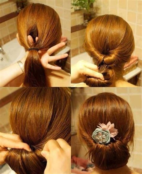 hairstyles quick and easy to do m 62 diy fast easy hairstyles photo tutorials vids