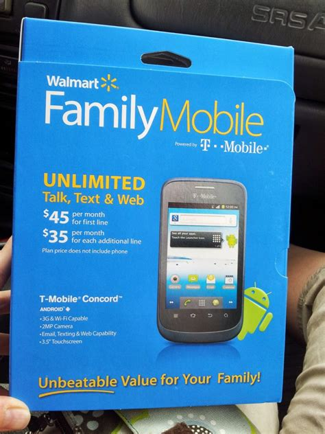 walmart home phone plans walmart family mobile offering