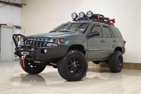 jeep grand cherokee custom custom jeep grand cherokee overland 4x4 lifted tv dvd navi