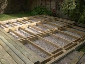 Types Of Deck Sub Frame For Garden Decking Q Deck