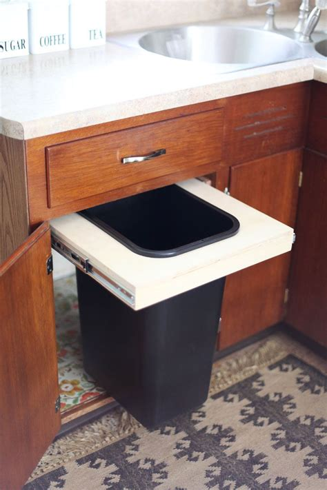 kitchen trash can ideas modern kitchen trash can ideas for good waste management