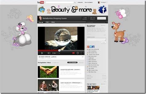 youtube kanal layout ändern so richtet man seinen youtube kanal im neuen design ein