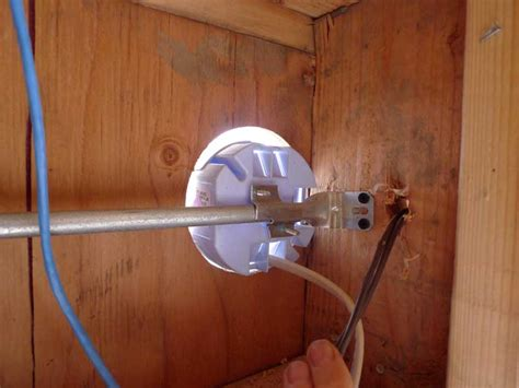 dog house electrical box electrical boxes for porch lights prior to stucco doityourself com community forums
