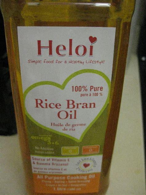 Rice Bran Shelf filberts and chocolate heloi rice bran