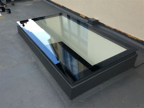 Skylight Roof Lantern Glass Flat Rooflight Self Ciean Lights For Roof