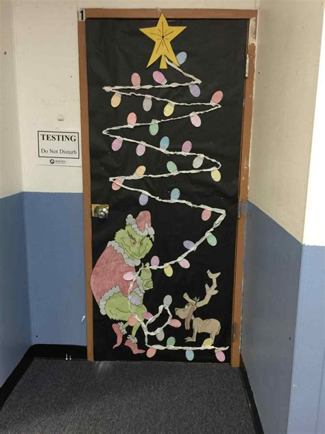 grinch door decorating contest ideas iron blog