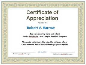 half page certificate template 31 free certificate of appreciation templates and letters