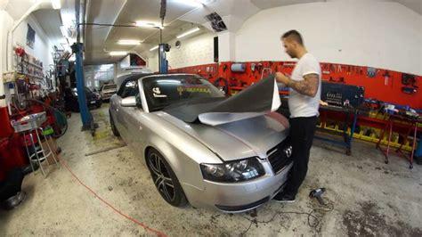3m folie schwarz matt car wrapping bern audi a4 carbon schwarz matt