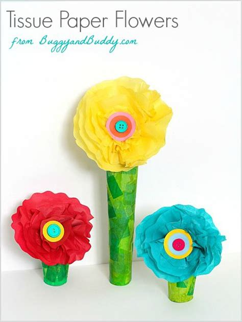 Tissue Paper Flowers Craft - 371 best images about crafts on earth