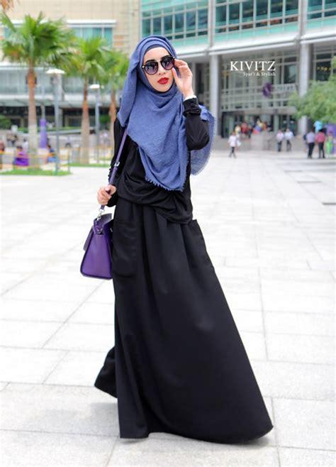 Ellea Dress Khimar Pasmina Modis Mouslim muslimah fashion style i style