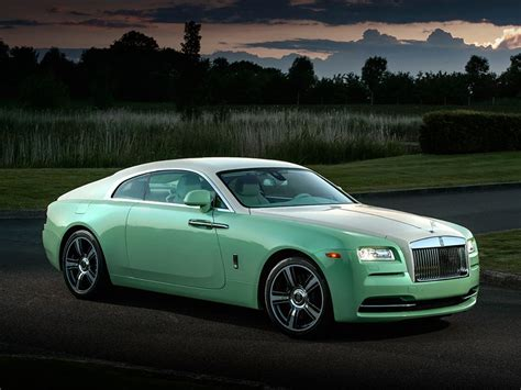 roll royce green jade pearl rolls royce wraith commissioned by michael fux