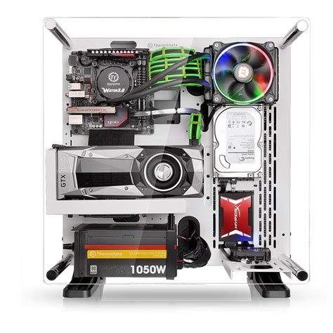 gabinete thermaltake gabinete thermaltake core p3 snow edition wall mount ca