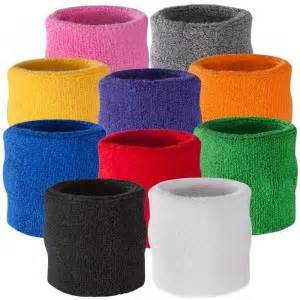 colored wristbands sweat wristbands colored sweatbands